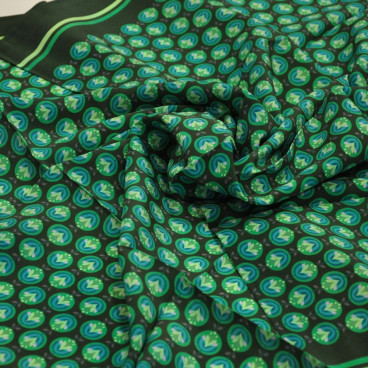 Green fallero scarf from...