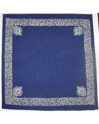 Pañuelo Indiana estampado artesano cenefa
