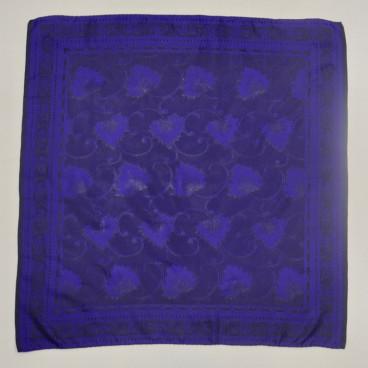 Pañuelo de seda hojas
