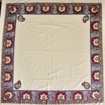 Pañuelo indiana color crudo 120 x 120 cm