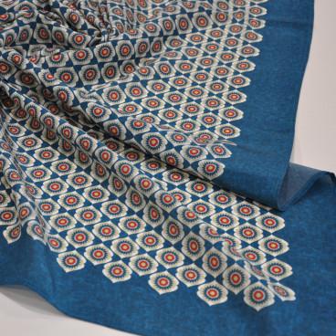 Pañuelo verde azulado GIRONÉS-VILA