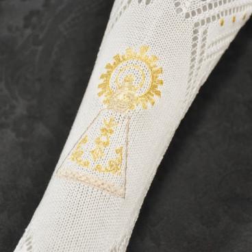 Medias bordadas Virgen del Pilar